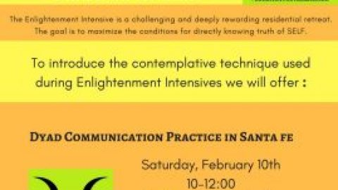 Dyad Communication Practice Sat 10 Feb at LeRoy's
