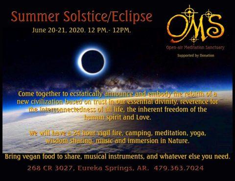 OMS Summer Solstice / Eclipse 2020