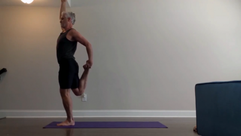 Yoga Quads Stretch Standing 3 Apr 2020