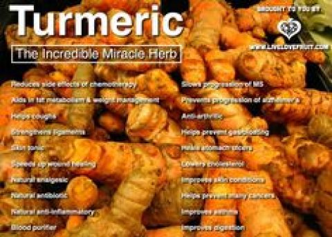 Turmeric – An Exotic Herb and its Amazing Health Benefits – Wed 4 Oct 2017 – 6:30pm