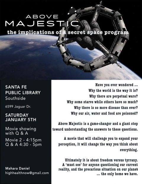 Visionary Video Redirected to Above Majestic at Southside Library on 5 Jan 2019 – 2pm