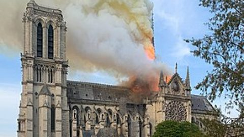The Burning of Notre Dame Cathedral, and The Illuminati Card Playing Game – Wed 6 Nov 2019 – 7pm